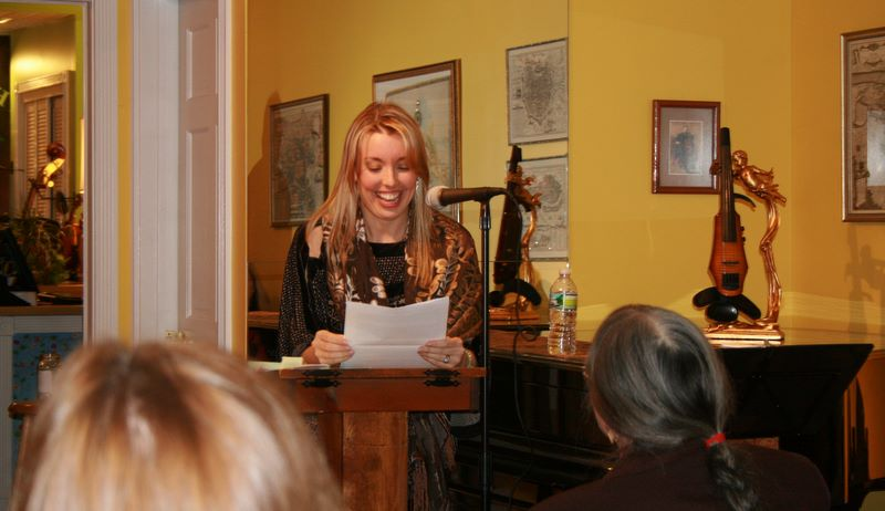 Long Island Poet Annabelle Moseley hosts the Fourth Friday Studio Series