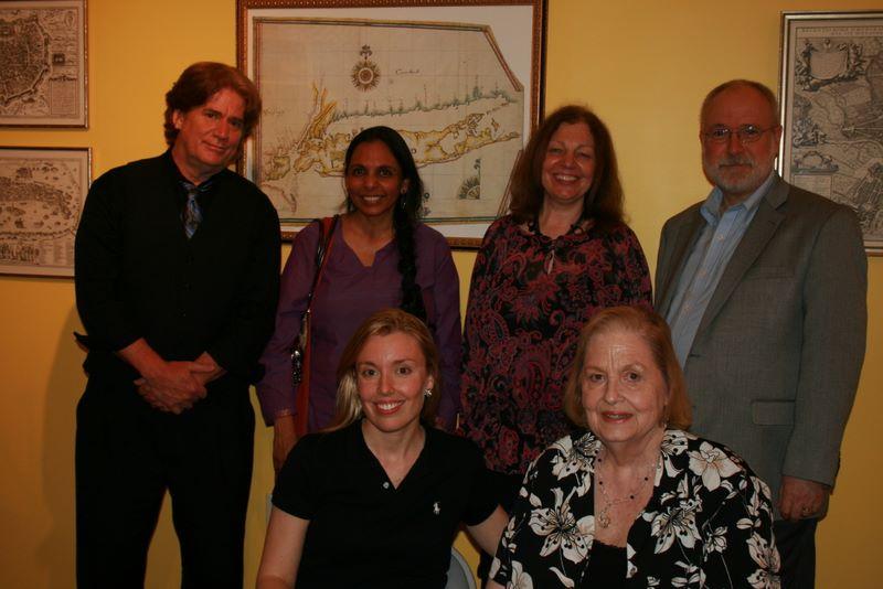 W.F. Lantry, Pramila Venkateswaran, Francine Sterle, George H. Northrup, Annabelle Moseley, and Patricial Fargnoli